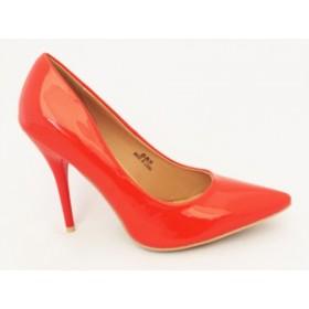 Pantofi dama rosii stiletto cu  toc de 10 cm