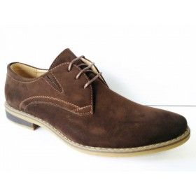 Pantofi barbati maro, cu siret si talpa foarte comfortabila.
