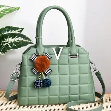 Geanta dama verde Veronica1