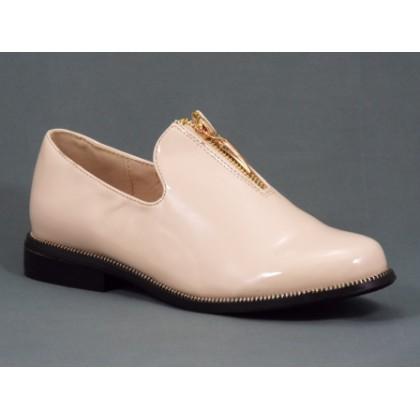 Pantofi dama bej lac Fyone, (OGM C1-21 BEIGE-42)