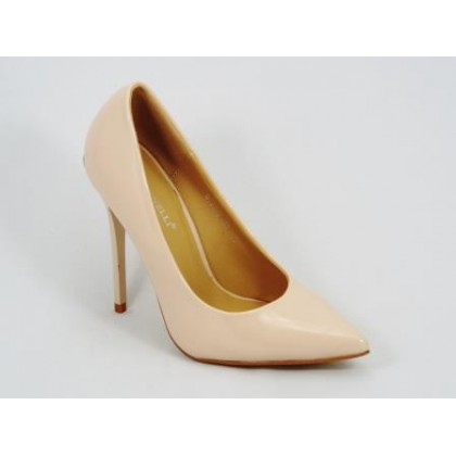 Pantofi dama bej stiletto toc 11,5 cm Grytta, (BOTINELLI 47-6 B-81)
