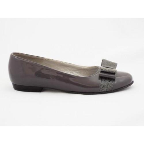 Pantofi cu talpa joasa piele