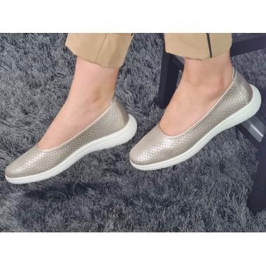 Pantofi dama piele bej Anda
