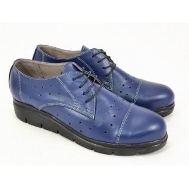 Pantofi dama piele bleumarin Salma