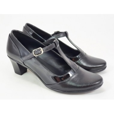 Pantofi dama piele negri Aurelia
