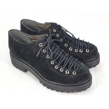 Pantofi dama piele negri Daiana