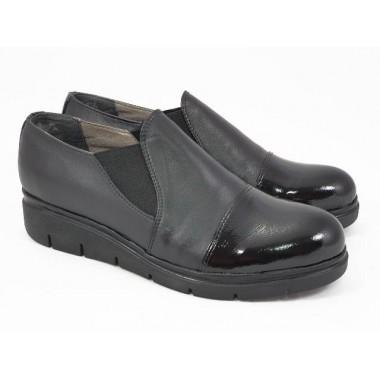 Pantofi dama piele negri Elvira