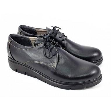 Pantofi dama piele negri Eva