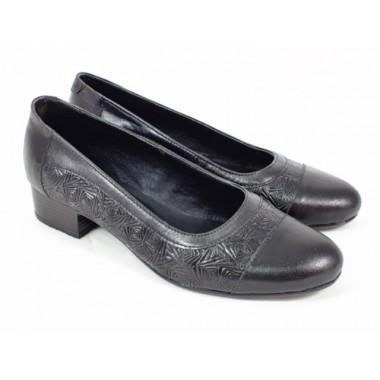 Pantofi dama piele negri Ioana