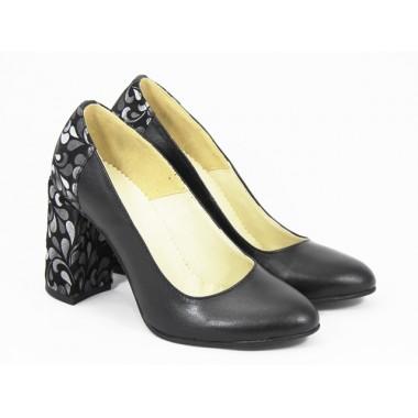 Pantofi dama piele negri Maryna