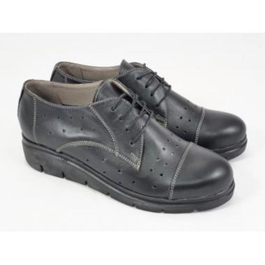 Pantofi dama piele negri Salma