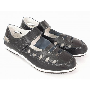 Pantofi dama piele negri Tora