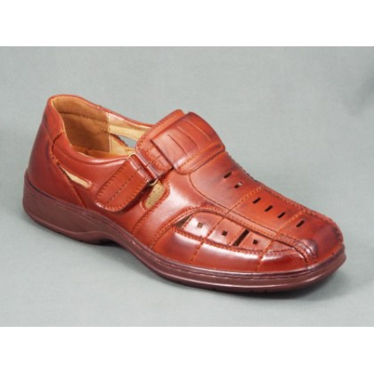 Sandale barbati maro Horry, (MMM  E 3212-2 L.BROWN-30)