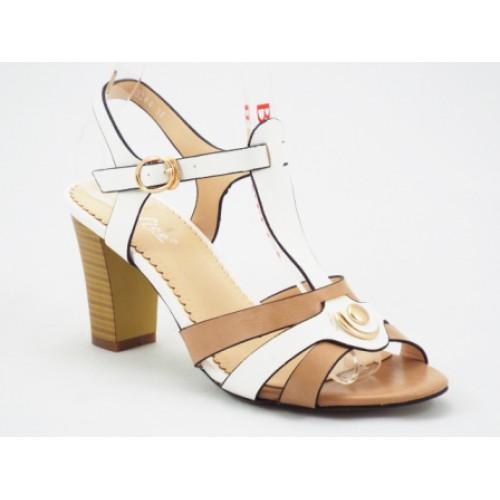 Sandale cu toc mediu