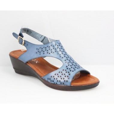 Sandale dama bleu Tori
