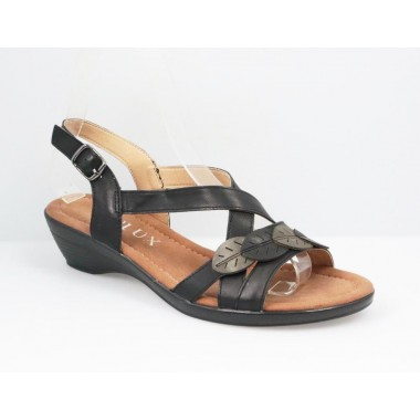 Sandale dama negre Gala