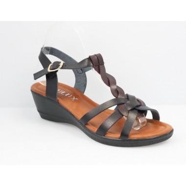 Sandale dama negre Kali