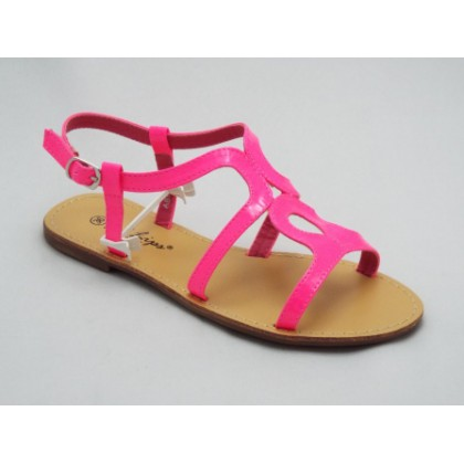 Sandale dama roz Ella, (RED LIPS AB 958 HOT PINK-70)