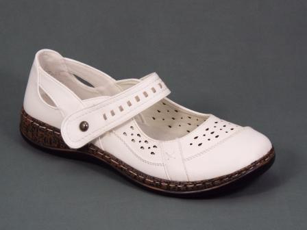 Sandale Dama Albe Dany