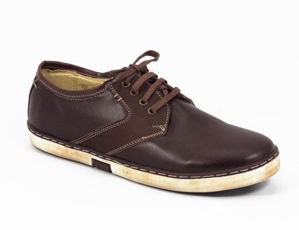 Pantofi Barbati Piele Maro Seryn