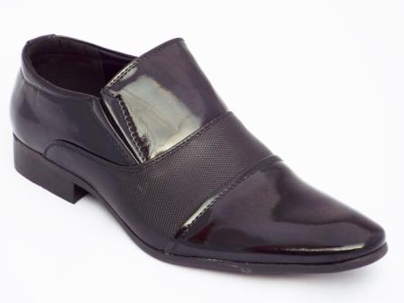 Pantofi barbati negri, eleganti, talpa comfortabila