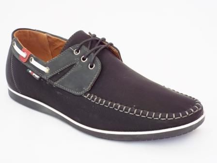 Pantofi barbati negri Derios sport
