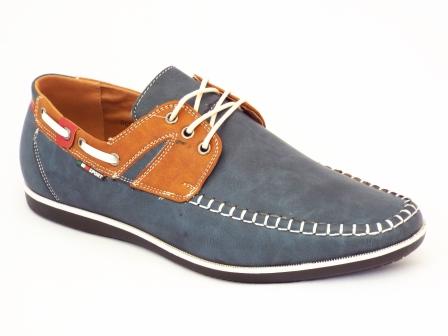 Pantofi barbati albastri Derios sport