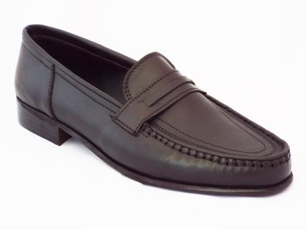 Pantofi barbati Nely negri din piele naturala