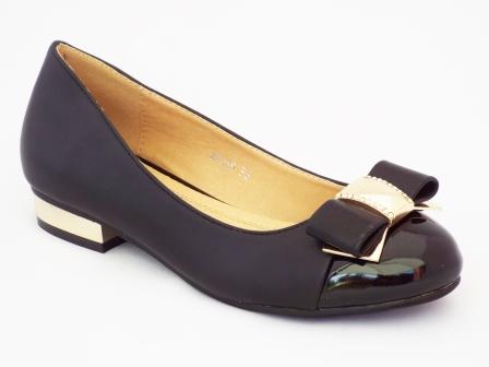 Pantofi femei Oygi negri cu toc mic