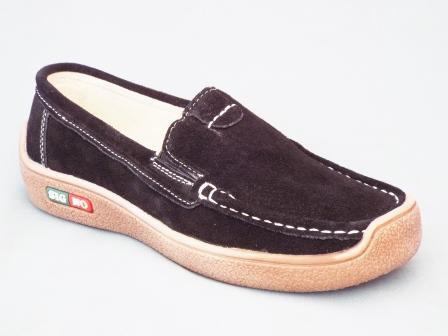 Pantofi femei Synia negri din piele naturala