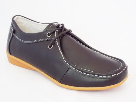 Pantofi dama Sonya negri piele naturala