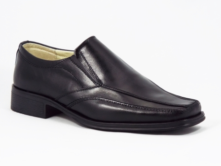 Pantofi barbati piele negri Paulo