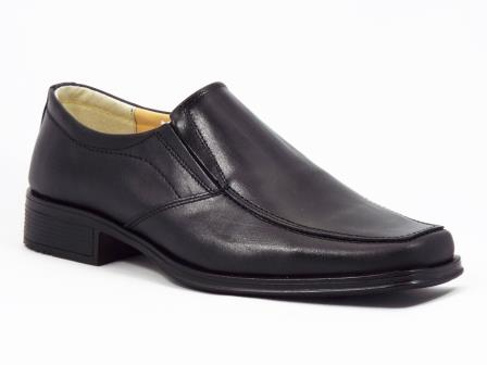 Pantofi barbati piele negri Gaston