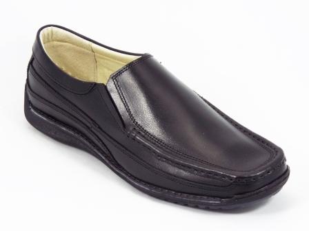 Pantofi barbati piele negri Frenzo