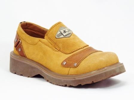 Pantofi barbati bej Gyulio