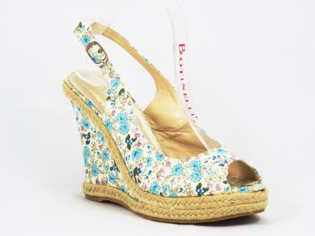 Sandale dama albastre talpa ortopedica 11 cm Dohhya