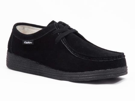Pantofi femei piele negri Fyrtia
