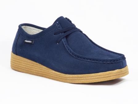 Pantofi femei piele albastri Fyrtia