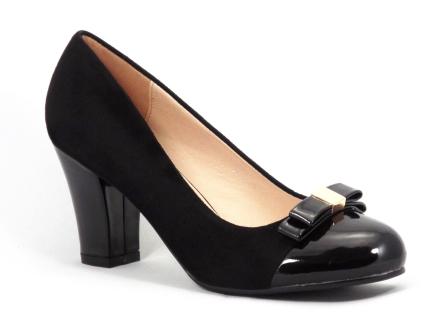 Pantofi dama negri toc de 7 cm Gonya