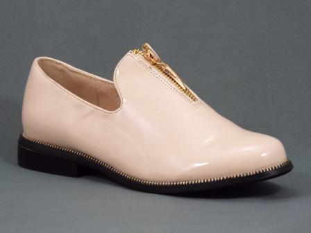 Pantofi dama bej lac Fyone