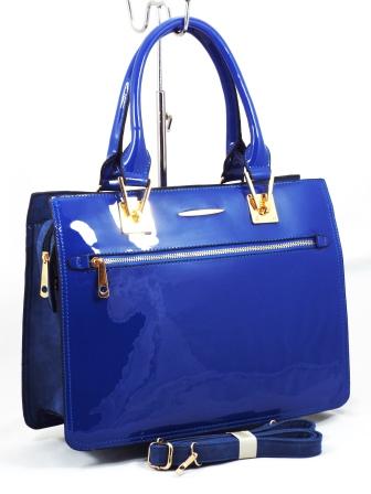 Geanta dama albastra Minna