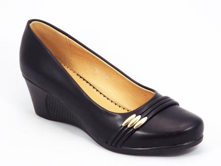 Pantofi dama negri talpa ortopedica Lilly