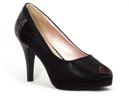 Pantofi dama negri toc 9 cm Henriette