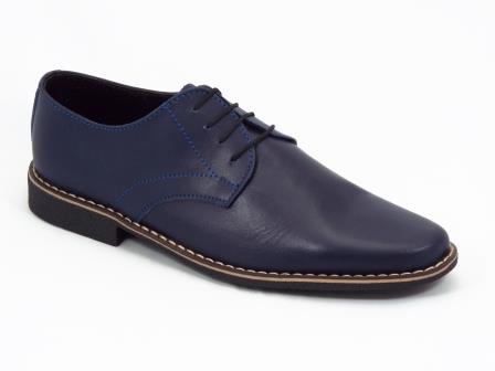 Pantofi barbati albastri piele Nell