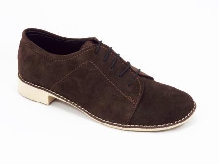 Pantofi dama maro piele Nellya