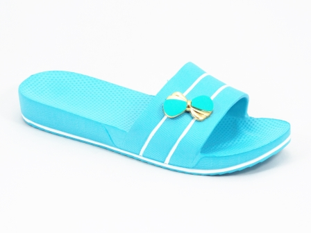 Papuci dama albastru-turcoaz Doryna