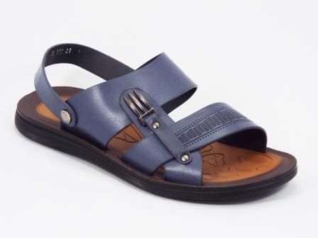 Sandale barbati albastre Lotek