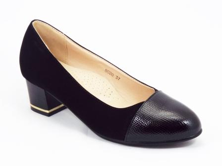 Pantofi dama negri toc 4 cm Feodora