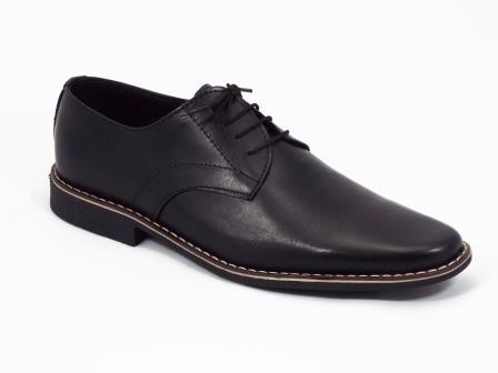 Pantofi barbati negri piele Nell