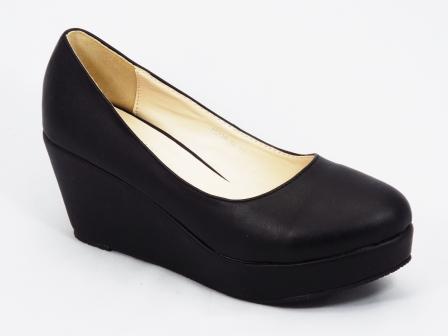 Pantofi dama negri talpa ortopedica 7 cm Renny